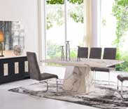 Sabrina Marble Dining Collection