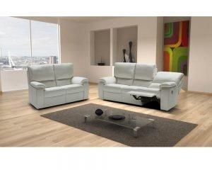 Calia-Italia-Chiara Leather Sofa