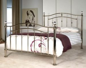 Cambridge-Chrome-Metal-Bed-With-Crystal-Balls