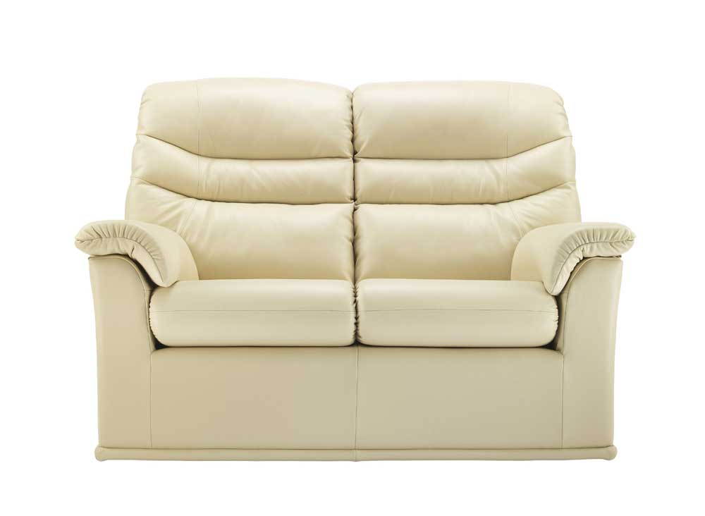 G Plan Malvern Leather Sofa Hoggs