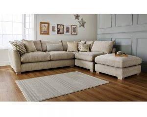 Metro Fabric Modular Corner Sofa