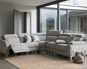 Parker Knoll 1701 Fabric Modular Corner Sofa