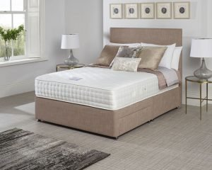 Relyon Aurora Gel Latex 1500 Pocket Sprung Divan Bed