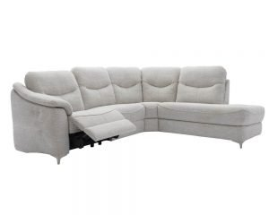 G-Plan-Jackson Fabric Corner with Chaise Recliner