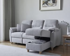 G Plan Spencer Fabric Chaise Corner Sofa