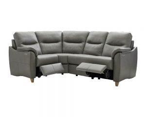 G Plan Spencer Leather Modular Corner Sofa