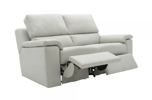 G Plan Taylor Leather 2 Seater Recliner Sofa
