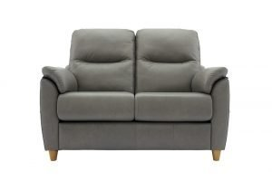 g plan spencer leather 2 seater sofa