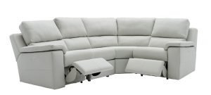 g plan taylor leather modular corner sofa with recliners