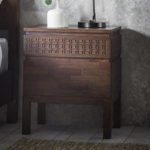 Boho Retreat 2 Drawer Bedside
