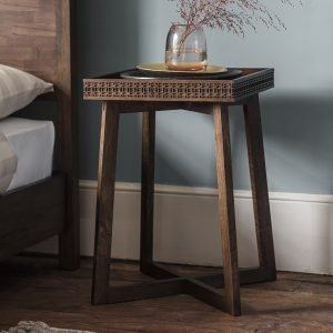 Boho Retreat Bedside Table