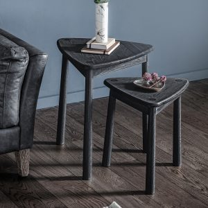 Wycombe Black Nest Of 2 Tables