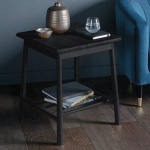 Wycombe Black Side Table