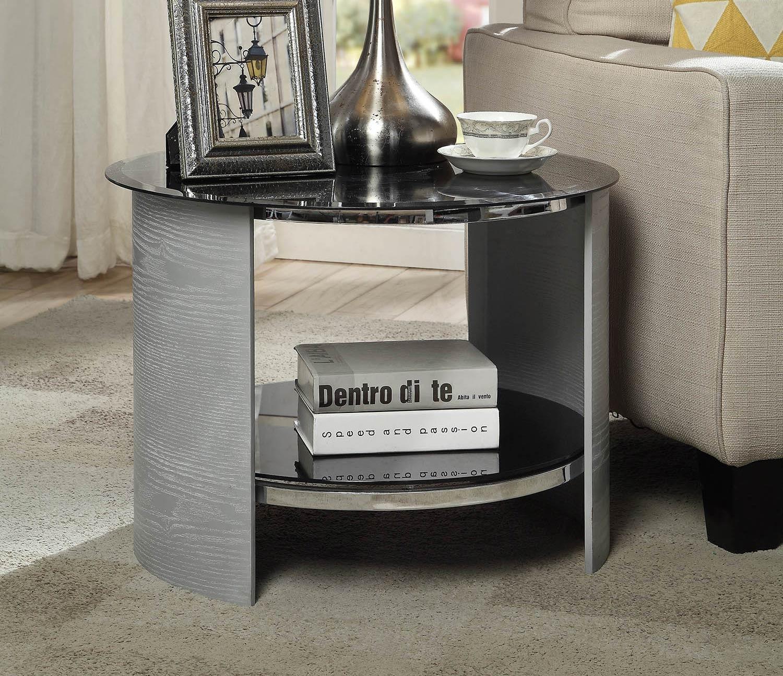 Jual San Marino Round Lamp Table Grey