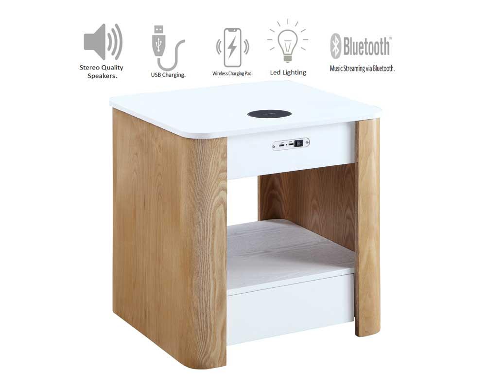 San Francisco Smart Lamp/Bedside Table - JF404 > Hoggs ...