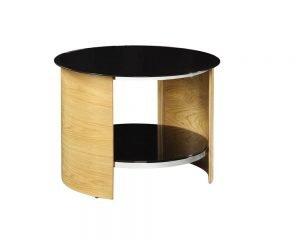 San Marino Round Lamp Table – Oak – JF303