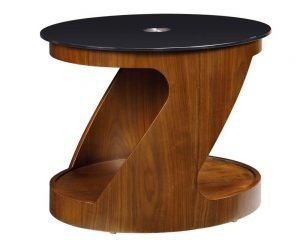 San Marino Round Lamp Table – Walnut – JF304