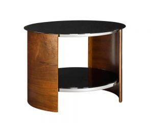 San Marino Round Lamp Table – Walnut – JF303