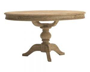 Versailles-Oak-Round-Extending-Table
