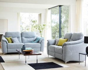 G Plan Jackson Fabric Sofas