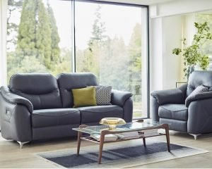 G Plan Jackson Leather Sofa Collection