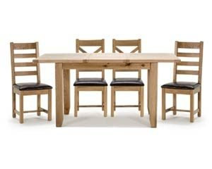 Amore Oak Dining and Occasional Furniture
