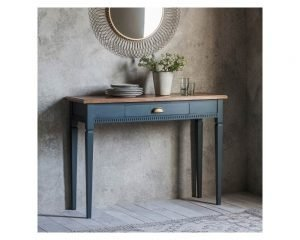Bronte 1 Drawer Console Table - Storm