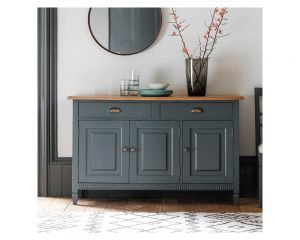 Bronte 3 Door 2 Drawer Sideboard Storm