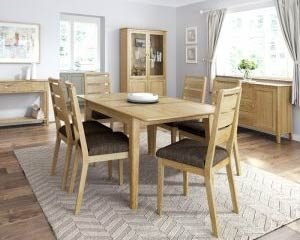 Cambridge Oak Dining & Occasional Collection