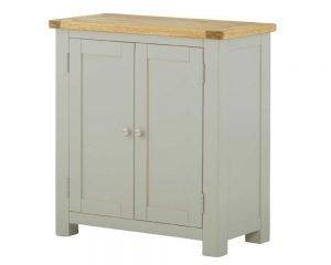 Portland 2 Door Cabinet - Stone
