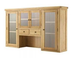 Portland Grand 4 Door Dresser Top - oak
