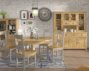 Portland Grand - Oak Living & Dining Furniture Range