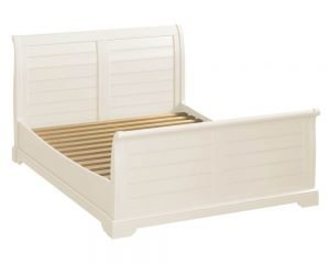 Lily 4'6 Sleigh Bed