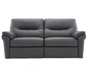 G Plan Seattle Leather Sofa