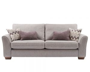 Jasper 3 Seater Fabric Sofa