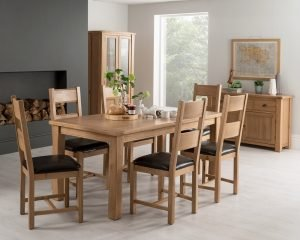 Oslo Oak Living & Dining Range