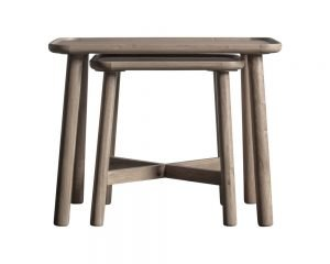 Kingham Grey Nest Of 2 Tables