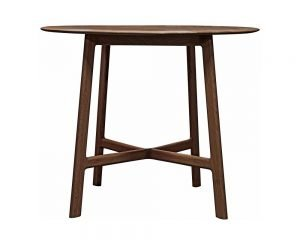 Madrid Walnut Round Dining Table
