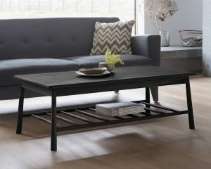 Hudson Living Wycombe Black Occasional Furniture