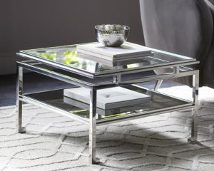 Cosenza Side Table Silver